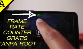 Cara menampilkan Frame Per Second Android
