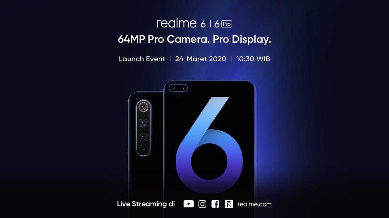 realme confirms 6 & 6 Pro