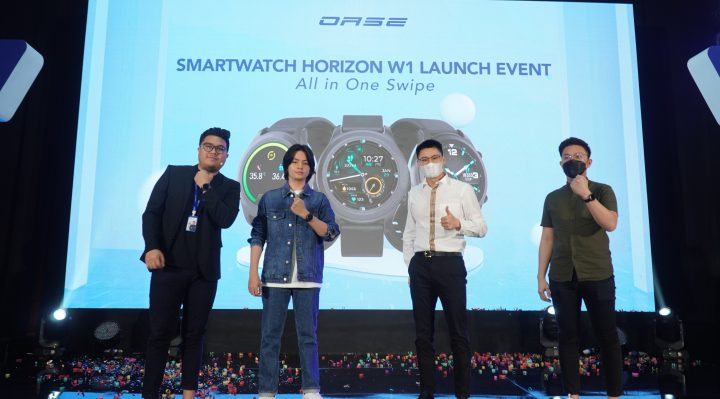 OASE Smartwatch Horizon W1 : Resmi dengan Thermometer !