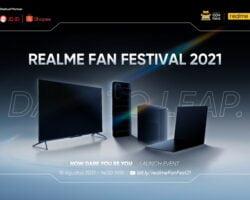 Banyak Kejutan di Realme Fan Fest 2021